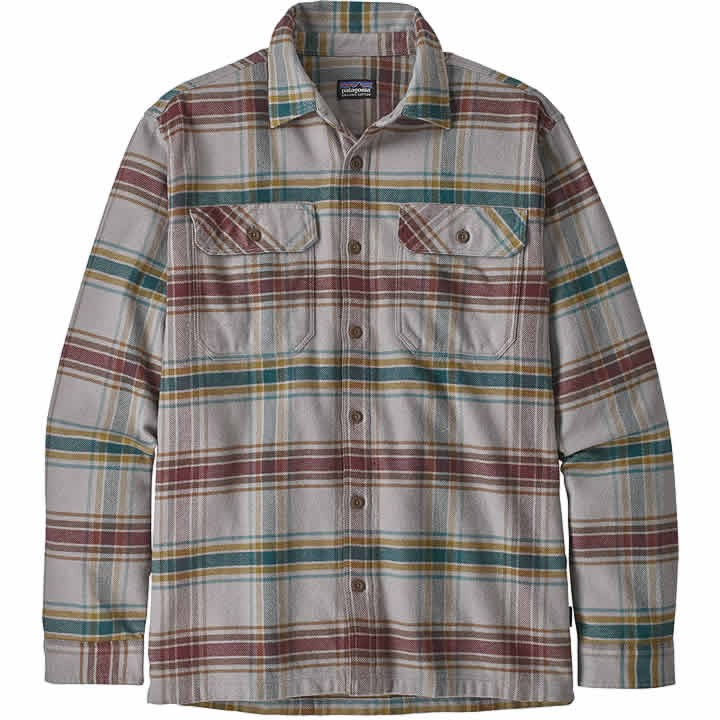 Patagonia Long-Sleeved Fjord Flannel Shirt Men's