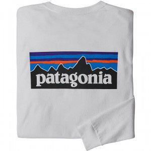 Patagonia Long-Sleeved P-6 Logo Responsibili-Tee Men's