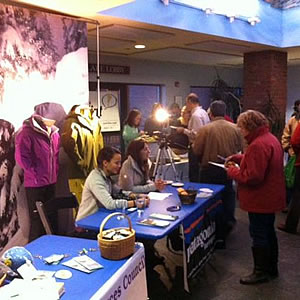 Patagonia Burlington and the Vermont Natural Resources Council sponsors the Wild and Scenic Film Festival Tour stop in Burlington, Vermont